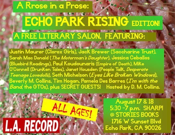 A Rrose in a Prose EPR edition smaller