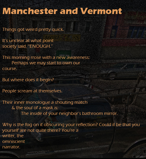 Manchester and Vermont - An Exquisite Corpse copy